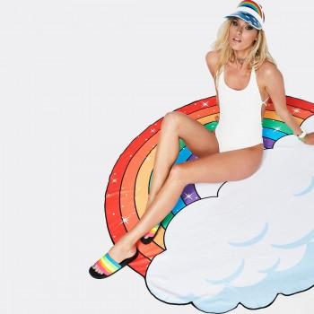 Пляжное покрывало - полотенце Rainbow