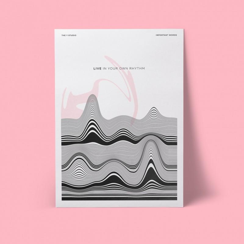 Постер 'Живи в своем ритме'