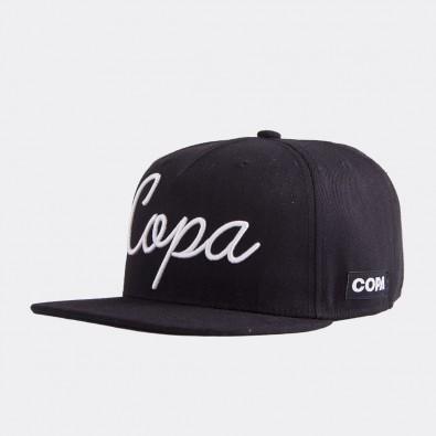 Кепка с логотипом COPA Snap черная