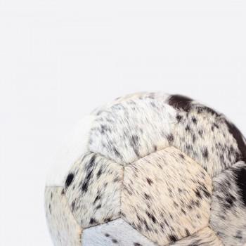 Кожаный футбольный мяч с ворсом COPA COW