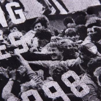 Свитшот с принтом Invading Pitches Since 1998 черный