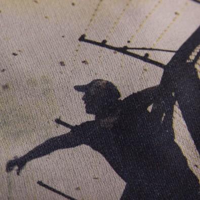 Свитшот с принтом Hinchas черный