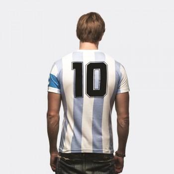 Футболка капитана сборной Argentina белая