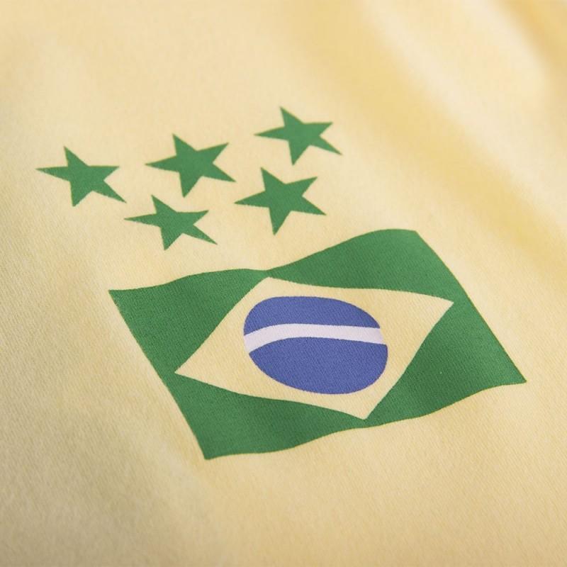 Футболка капитана сборной Brasil Capitão желтая