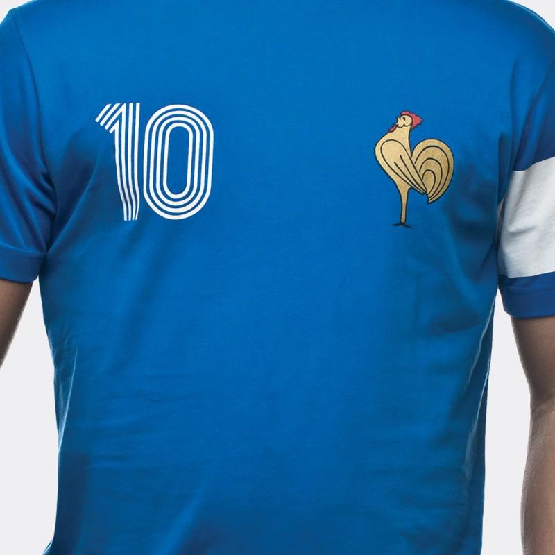 Футболка капитана сборной France синяя