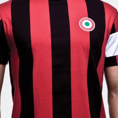 Футболка капитана клуба Milan красная