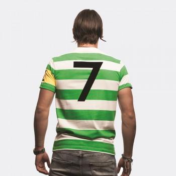 Футболка капитана клуба Celtic зеленая