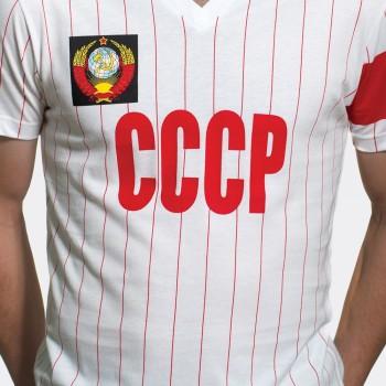 Футболка капитана сборной СССР 1982 белая