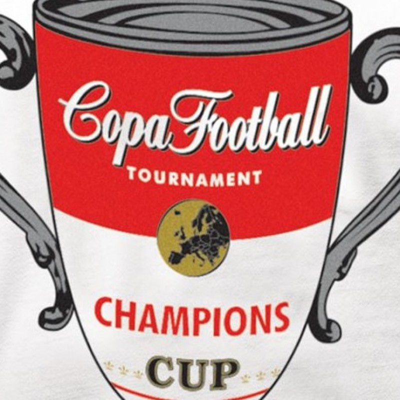 Футболка с принтом COPA Champions Cup белая