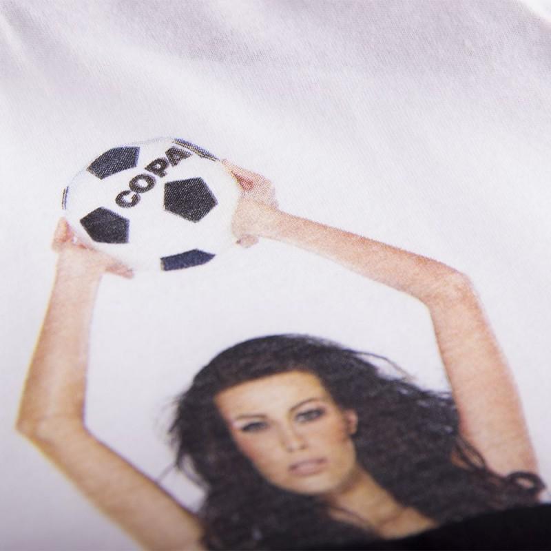 Футболка с принтом Secret Pocket V образная белая