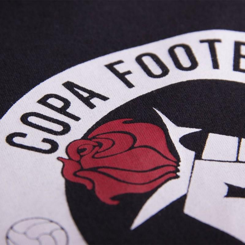 Футболка с принтом Football Romantics черная