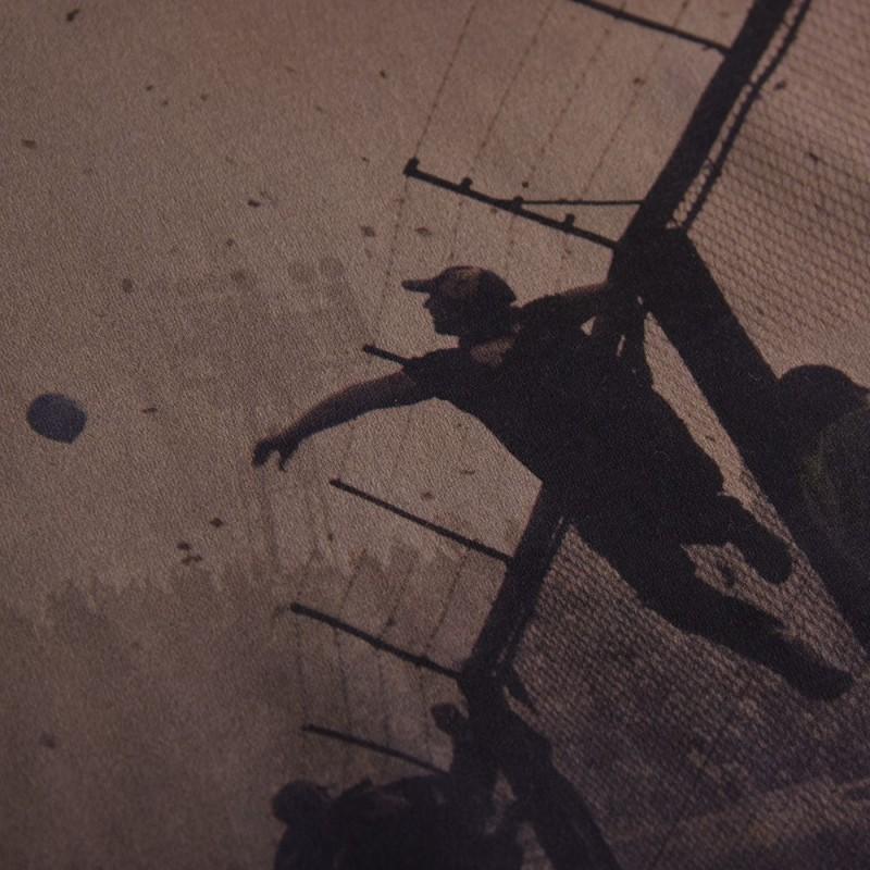 Футболка с принтом Hinchas черная