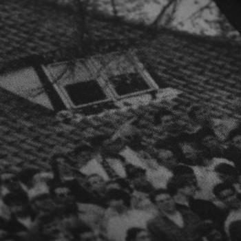 Футболка с принтом Terraces Photo черная