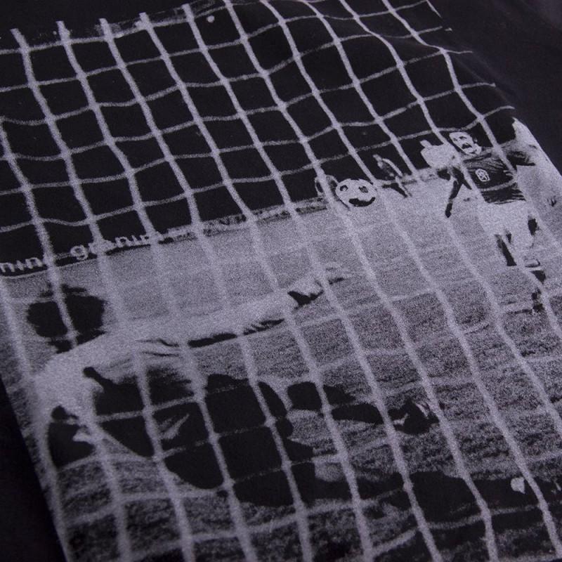 Футболка с принтом Panenka черная