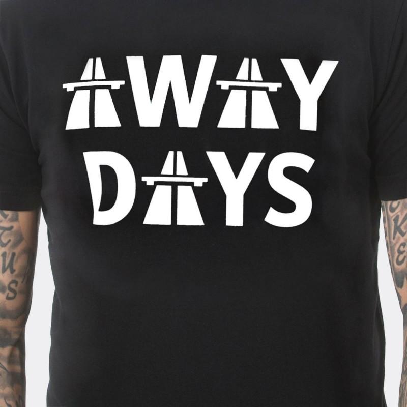 Футболка с принтом Away Days черная