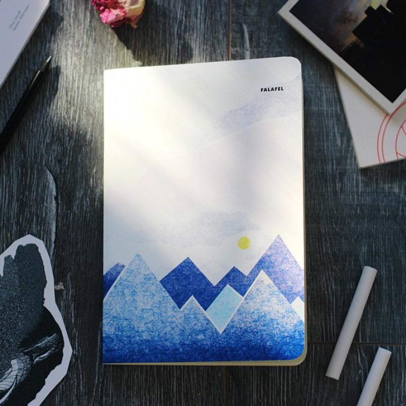 Блокнот с принтом Mineral Waters формат А5