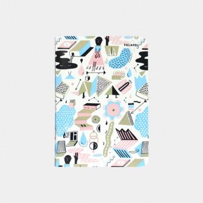 Блокнот с принтом In Abstract Mood формат А6