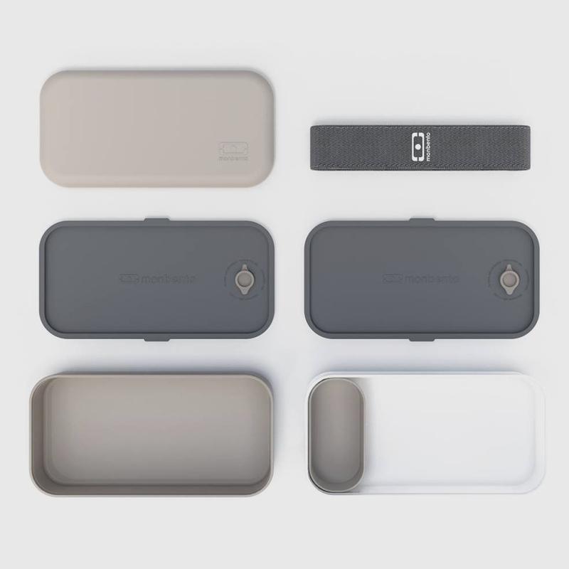 Ланчбокс MB Original серый с белым