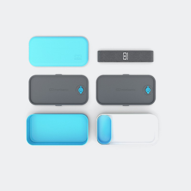 Ланчбокс MB Original голубой с белым