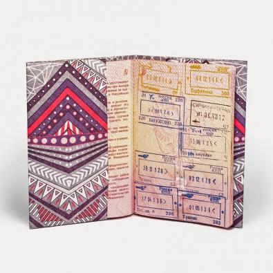 Обложка на паспорт NEW WALLET DEERLINE