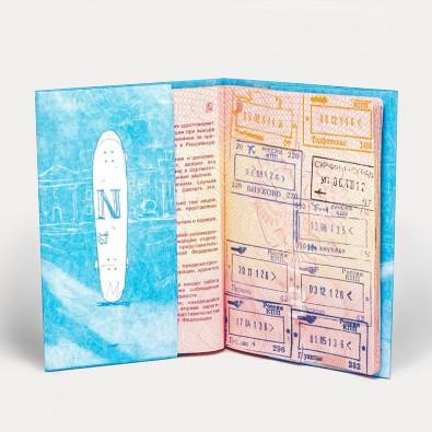 Обложка на паспорт NEW WALLET LONG