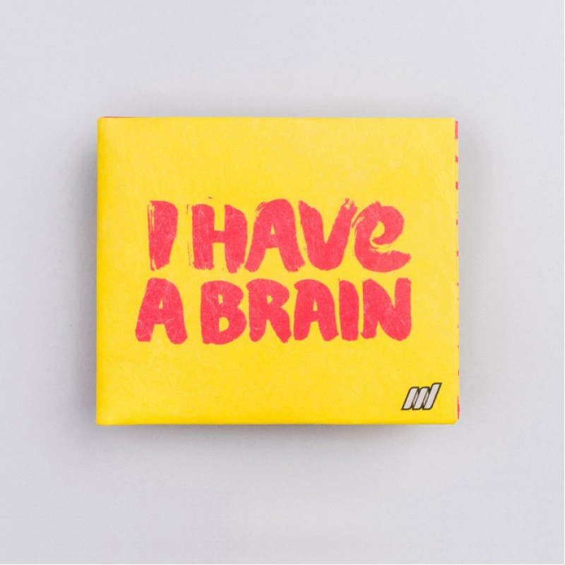 Кошелек NEW WALLET Brain