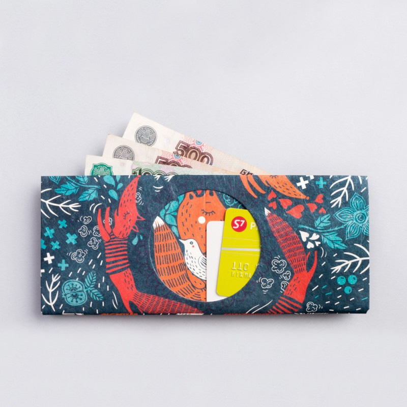 Кошелек NEW WALLET Foxes