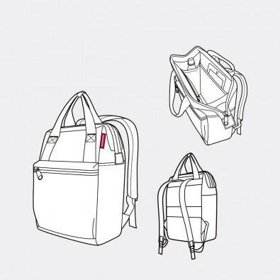 Рюкзак Allrounder R | Diamonds красный