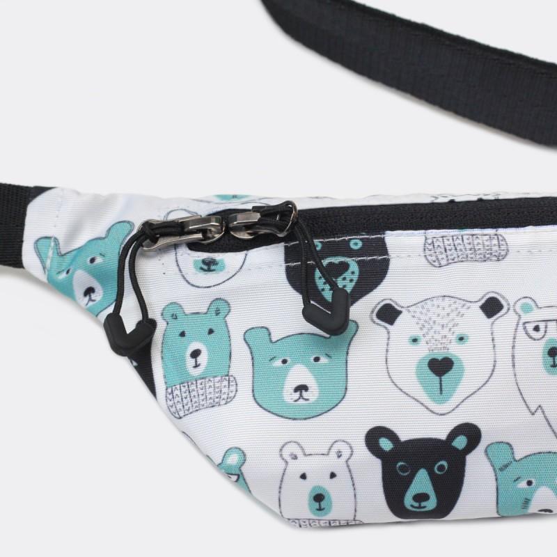 Детская сумка на пояс с принтом Bears