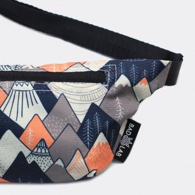 Детская сумка на пояс с принтом Mountains