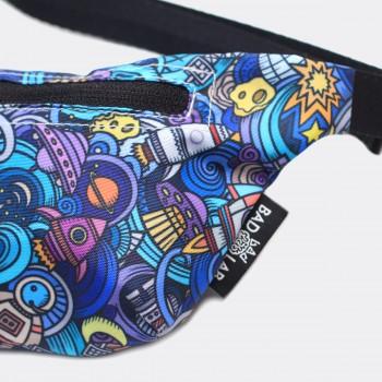 Детская сумка на пояс с принтом Space
