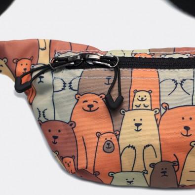 Детская сумка на пояс с принтом Family Bears
