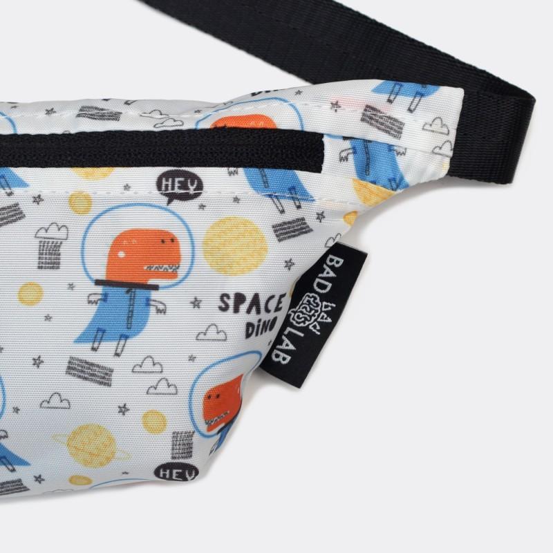 Детская сумка на пояс с принтом Space Dino