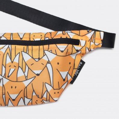 Детская сумка на пояс с принтом Fox Family