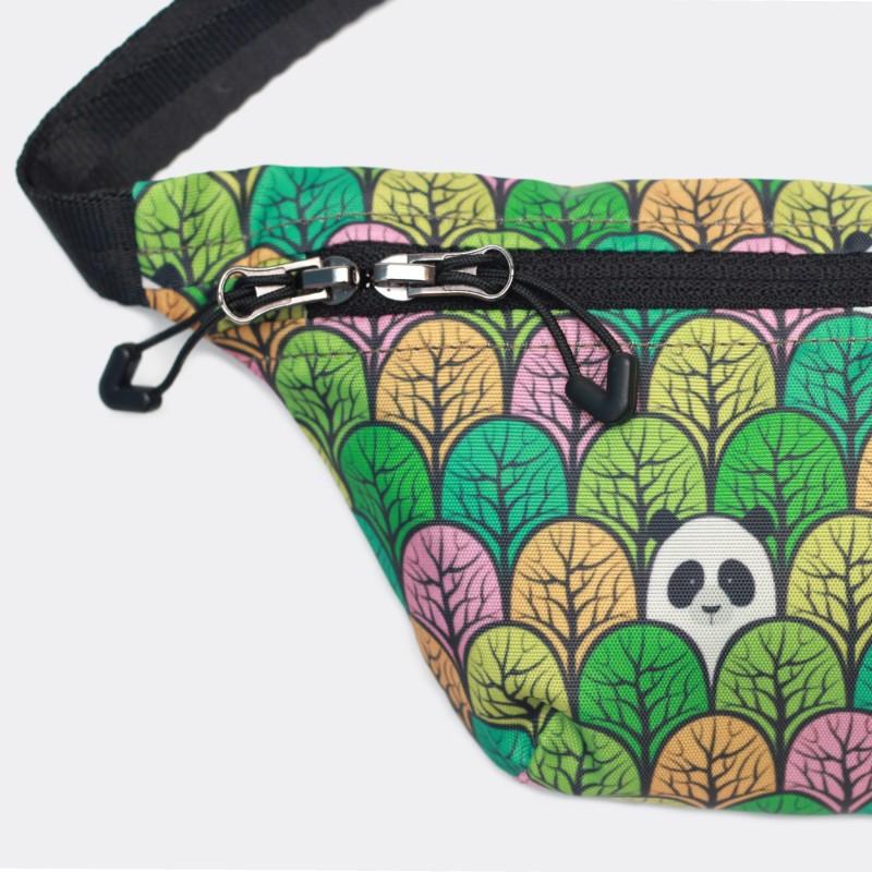 Детская сумка на пояс с принтом Pandas