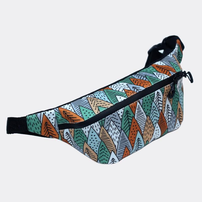 Поясная сумка Pase с принтом Forest