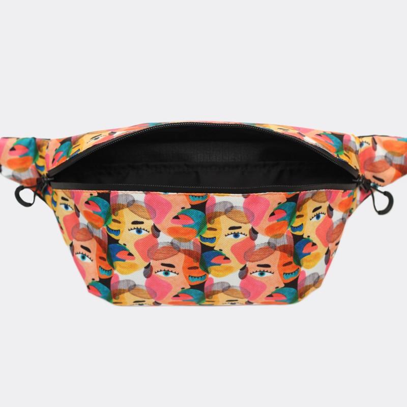 Поясная сумка Pase с принтом Face