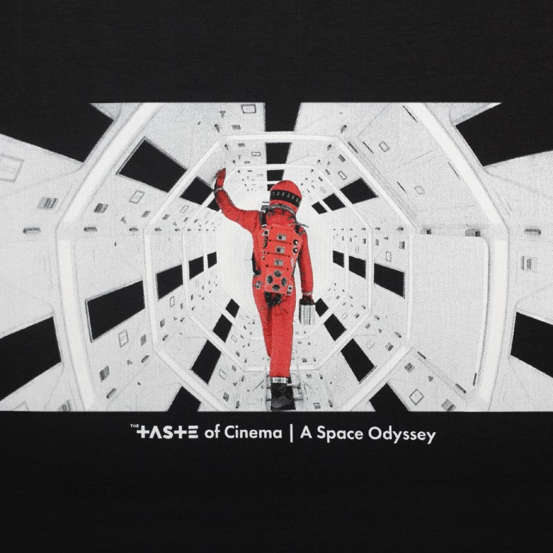 Футболка с принтом Astro | А Space Odyssey черная