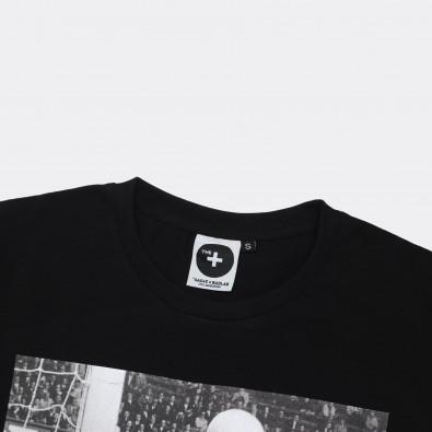 Футболка с принтом Lev Yashin | World Cup черная