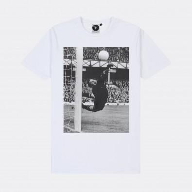Футболка с принтом Lev Yashin | World Cup белая