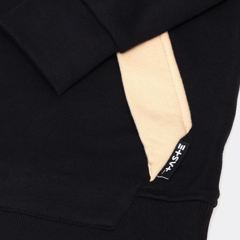 Толстовка с капюшоном Flap черная