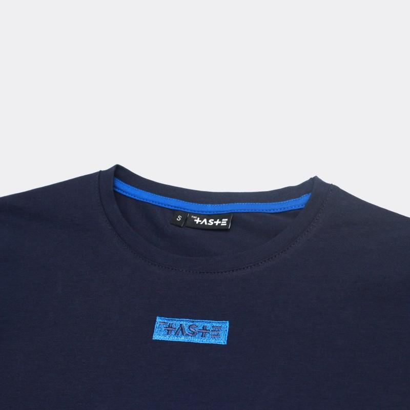 Футболка Two-color block - Navy / Azure