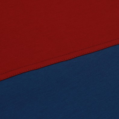 Футболка Two-color block - Red / Blue