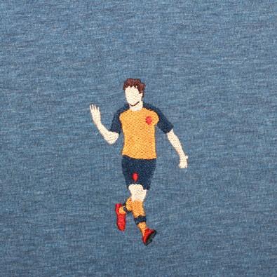 Футболка с вышивкой Arshavin | Arsenal сиреневый меланж