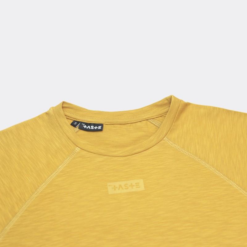 Лонгслив Base Raglan свободного кроя желтый