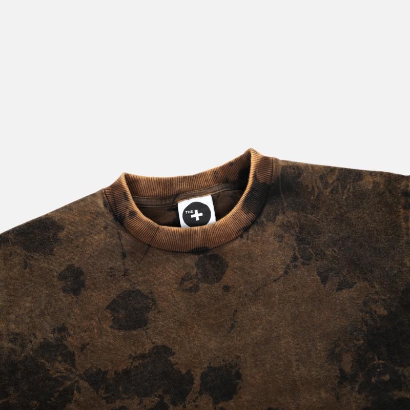 Футболка Base Marble Garment dyed black