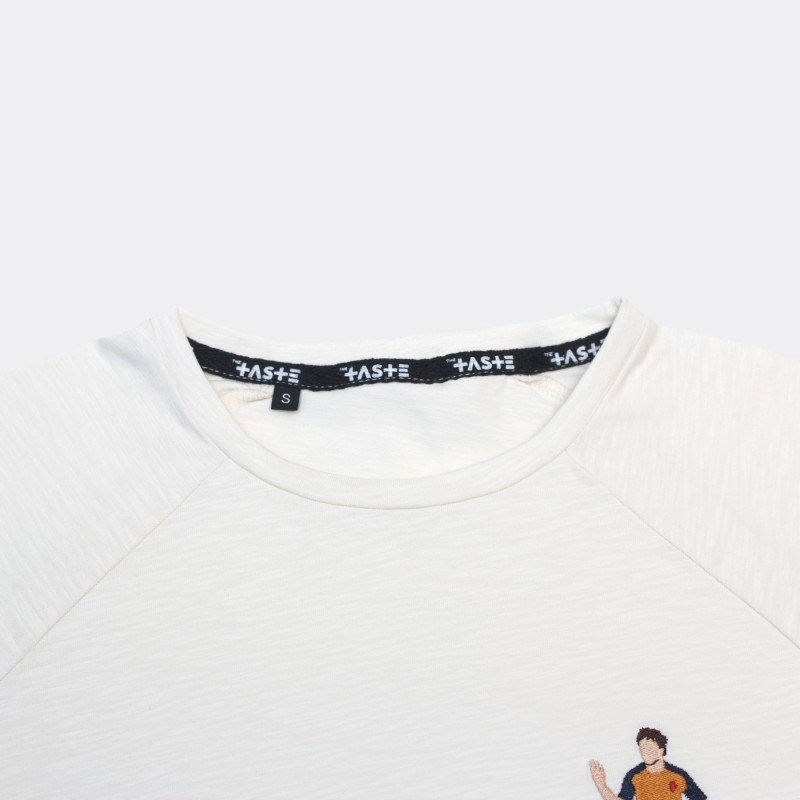 Футболка с вышивкой Arshavin | Arsenal белый меланж