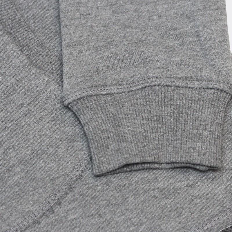 Толстовка с капюшоном SP based серый меланж