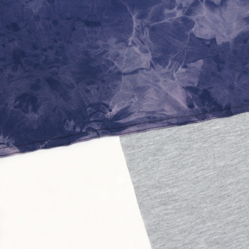 Футболка Tie Dye Tricolor Block Blue