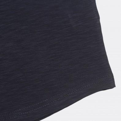 Футболка с вышивкой Ibrahimovic   LA Galaxy темно-синий меланж
